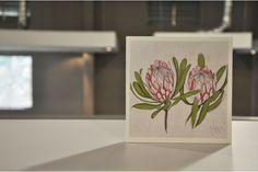 Protea Print by Jen Jen for sale on hellopretty.co.za