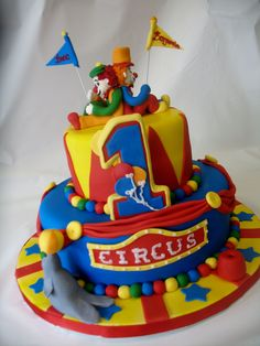 Circus clowns Cake from Cake Creations