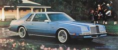 """1982 Chrysler Imperial The Imperial name made a brief return for the 1982 & 1983 model years, this time under the Chrysler brand.  Offered only as a coupe, it also had a """"bustle"""" rear end that just seemed like a knock-off of the Cadillac Seville."""
