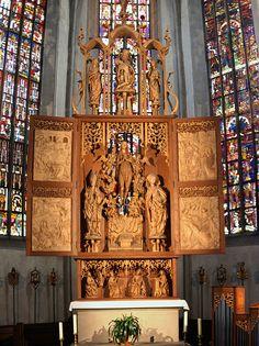 Riemenschneider Altar,  St. Maria Magdalena Kirche, Münnerstadt, Germany