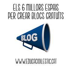 Educació i les TIC: Els 6 millors espais per crear blogs gratuïts