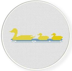 Looking for your next project? You're going to love Duck Family Cross Stitch Pattern by designer teamembro3703945.