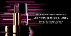 How GORGEOUS is this #Chanel lip & nail shade? Special edition for #FashionNightOut