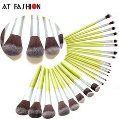 face mask New Green Bamboo Makeup Brush Set Cosmetics 23 Pcs Facial MakeupBrushes Kit Foundation Powder Fiber Face Eyes Blush Brush Tools <3 Find out more on AliExpress website by clicking the image