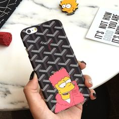 Simpson Mobile Phone Case for iPhone5 5s 6 6s 6 6s plus $9.95