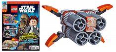 Magazine LEGO Star Wars Extra : Le Quadjumper offert avec le numéro 2: Suite à la nouvelle périodicité mise en place par Panini pour… #LEGO