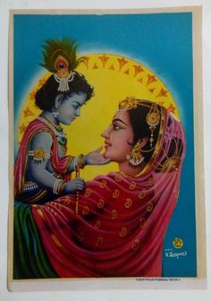 India Baby Krishna Teasing His Mother Yashoda