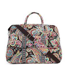 a4552d3308 Vera Bradley Luggage Womens Grand Traveler Parisian Paisley Duffel Bag     Want additional info