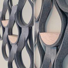 wanted-design-launch-pad-mike-garman - Design Milk Cool Furniture, Furniture Design, Jaali Design, Launch Pad, Pad Design, Flower Wall, Modern Minimalist, Home Interior Design, Lighting Design