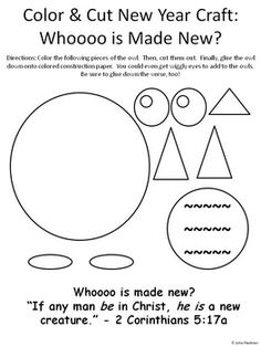 New Year Bible Lessons For January Complete Unit More Information Years Coloring Sheet