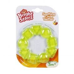Bright starts Chill /& Teethe 3m boys Bpa Free