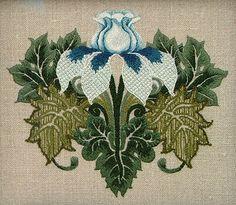 Gallery.ru / Фото #34 - Якобинская вышивка (крюил) - Markira