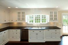 classic white kitchen by SHD