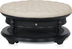 Charleston Upholstered Coffee Table   Value City Furniture