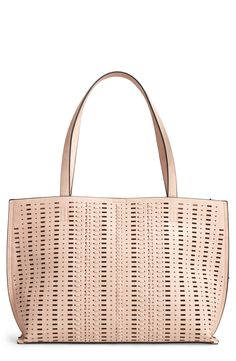 New Phase 3 Woven Faux Leather Tote fashion online. [$75]?@shop.seehandbags<<