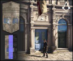ArtStation - Assassin's creed Syndicate Stores, Olivier TREHET