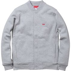 Supreme- Snap Front Sweat