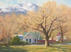 Pikes Peak and Weber. Painting by Richard Dahlquist