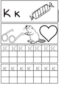 Ακολουθεί το πρώτο μέρος (από το Α μέχρι το Μ) με φύλλα εργασίας γραφής των γραμμάτων της αλφαβήτας (κεφαλαία και πεζά). Οι υπόλοιπες αναρ...