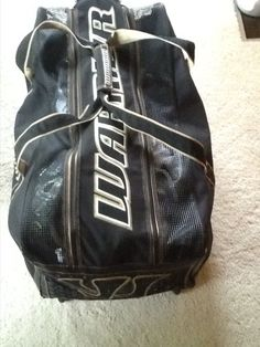 WARRIOR hockey bag Hockey Gear, I Never Lose, Man Go, Pale Skin, White Hair, Schmidt, A Team, Protein, Aesthetics