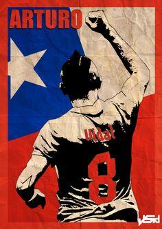 Alexis Sanchez Wallpaper Iphone Copa America 2015 On Behance Alexis S 225 Nchez Chile La