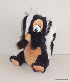 "Disney Store Exclusive Flower Plush Skunk Bambi Friend 10""  #Disney #toys #stuffedanimals"