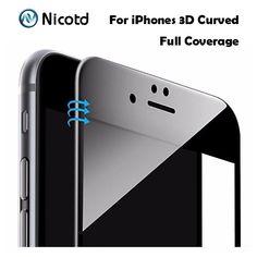 Carbon Fiber Soft Edge Screen Protectoe For iPhone 6 dd67b3c0f60
