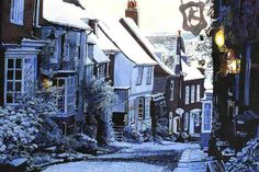 "pagewoman: "" Mermaid Street, Rye, Sussex, England by Colin Bailey """