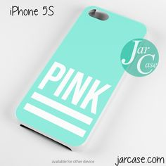 Pink Blue Victoria's Secret Phone case for iPhone 4/4s/5/5c/5s/6/6 plus