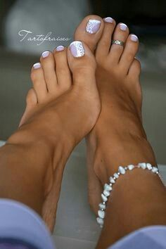 pedicure Sexy toes french feet