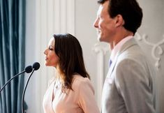 Prince Joachim and Marie held a reception at Schackenborg Castle