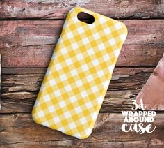 yellow white stripSamsung galaxy note 5 by LoudUniverse on Etsy
