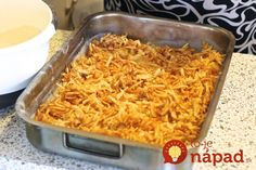 Kolac-od-jabuka-i-grisa-9 Dessert Bars, Kitchen Hacks, Macaroni And Cheese, Cake Recipes, Good Food, Food And Drink, Sweets, Cooking, Ethnic Recipes