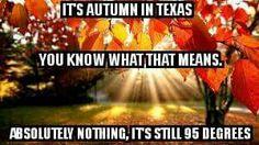 Autumn in Texas