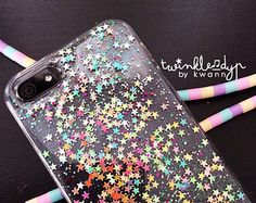 Fairy Pastel - iPhone case, Glitter case for iPhone 4,4S | 5,5S | 6,6Plus | Galaxy Note4