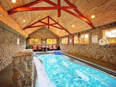 Pool Cabins By Alpinemtnchalet On Pinterest Great Smoky Mountains Hot Tubs