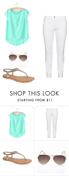 """""""Summer outfit"""" by nichellerenea ❤ liked on Polyvore featuring Steilmann and Chinese Laundry"""