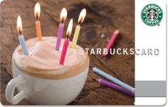 Starbucks Cards On Pinterest