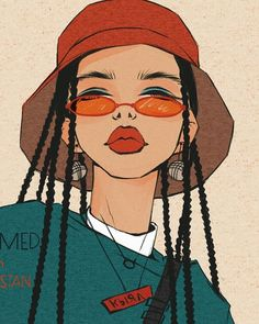 dessin art artistes créatifs Informations About Drawing Art Creative Artists Pin You can eas Black Girl Art, Art Girl, Art Sketches, Art Drawings, Drawing Art, Nose Drawing, Arte Do Hip Hop, Arte Sketchbook, Hippie Art