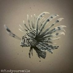 Doodle #draw #drawing #sketch #doodle #art #draweveryday #illustration #markerdrawing #markermasters #markerart #markersketch #markerdoodle #lionfish #lionfishdrawing #lionfishart #lionfishtattoo #lionfishsketch #thankful