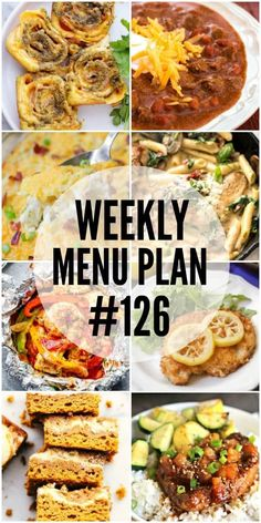 These easy and tasty recipes are sure to be family favorites! You'll want to save all the dishes in this week's menu plan! via @realhousemoms
