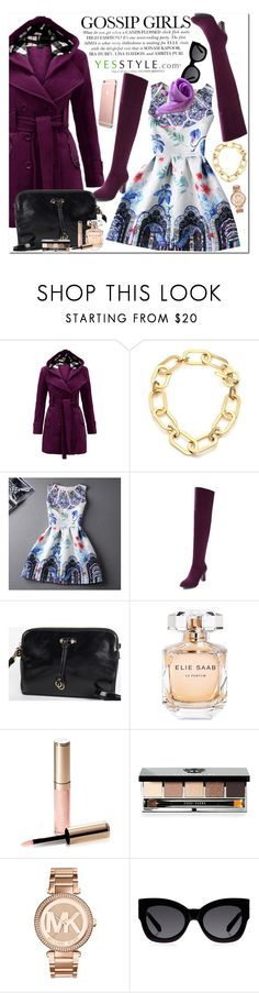 """""""YesStyle"""" by oshint ❤ liked on Polyvore featuring Michael Kors, Rainbeam, Elie Saab, By Terry, Bobbi Brown Cosmetics, Karen Walker, yesstyle, blackfriday and cybermonday"""