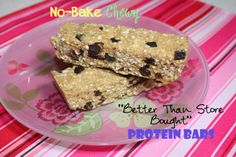 """no bake chewy """"better than store bought"""" protein bars store bought protein bars   with almost 20 grams of protein in a 200 calorie bar"""