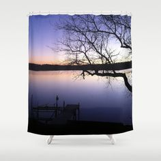 Sunset, Shower Curtain, by B2Bdesigns
