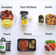 Healthy Eating Basics for Solid Nutrition Healthy Meal Prep, Healthy Snacks, Healthy Eating, Fitness Meal Prep, Good Foods To Eat, Food To Make, Diet Recipes, Healthy Recipes, Lunch Snacks