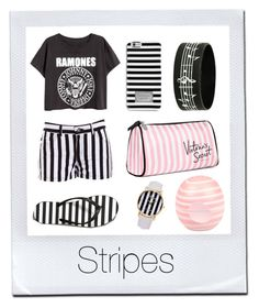 """#97 stripes"" by xjet1998x ❤ liked on Polyvore"