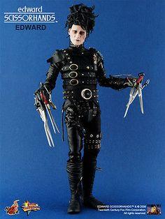 """[옥션eBay쇼핑]2009 Hot Toys MMS82 1:6 12"""" Tim Burton Movie Edward Scissorhands Johnny Depp $549.99"""