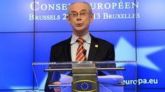 Van Rompuy blikt hoopvol vooruit op 2014