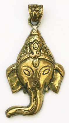 "Metaphysical Gifts, Cards, Wrap and Crystals | Life Is A Gift Shop - Exceptional Etched Brass Ganesh 2-3/4"" Pendant - Banisher of Obstacles - Back is as nice as the face!, $60.00 (http://lifeisagiftshop.com/exceptional-etched-brass-ganesh-2-3-4-pendant-banisher-of-obstacles-back-is-as-nice-as-the-face/)"