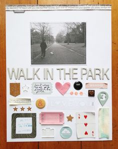 Walk in the Park by dearlydee at @studio_calico